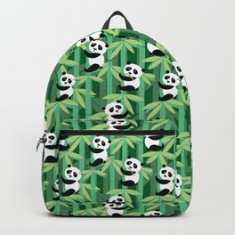 Panda's society Backpack