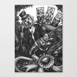 Circus Woof Canvas Print
