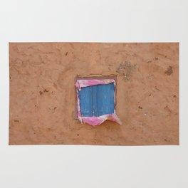window in the mud Rug