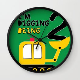 I'm digging being 2. Wall Clock