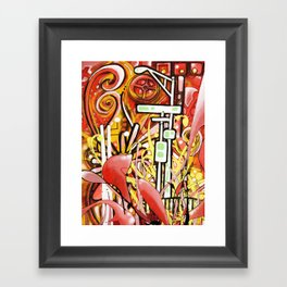 Landmark Framed Art Print