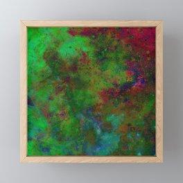 HANDPAINTED UNIVERSE Framed Mini Art Print