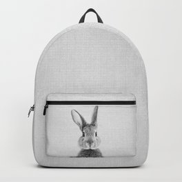 Rabbit - Black & White Backpack