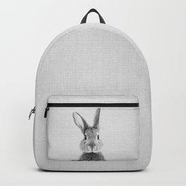 Rabbit - Black & White Backpack