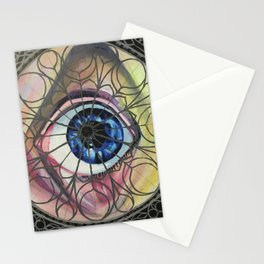 Obscene Eye Contact Stationery Cards