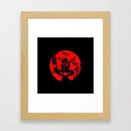 Ninja Monk Framed Art Print