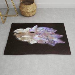 Purple Flame Rug