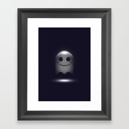 Ghost in 3D Framed Art Print
