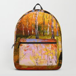 Birch trees Backpack