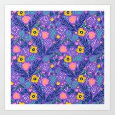 Flora Delight Art Print