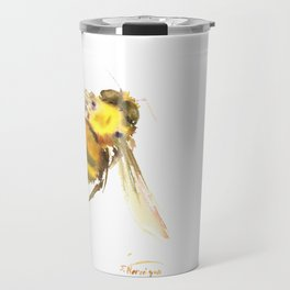 Bee, bee art, bee design Travel Mug