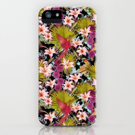 tropical lilly iPhone Case