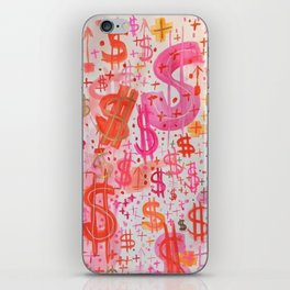 Barbie Money iPhone Skin