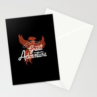 Great Adventure Stationery Cards