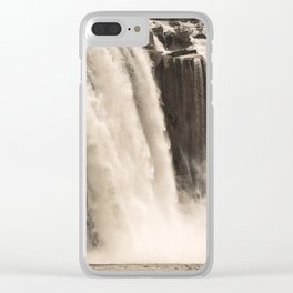 Shoshone Falls in Twin Falls, Idaho Clear iPhone Case
