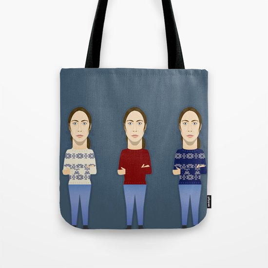 Watching The Detectives #1: Landscape Tote Bag