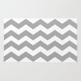 Chevron (in Grey) Rug