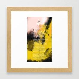 If— BY RUDYARD KIPLING v5 Framed Art Print