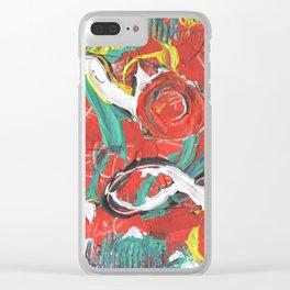 Brazil Clear iPhone Case