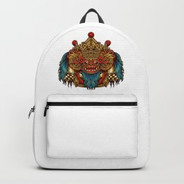 Barong Mask Backpack