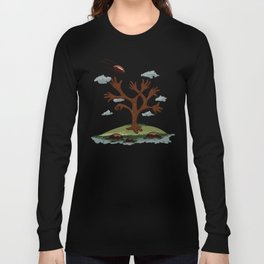 Player tree Long Sleeve T-shirt