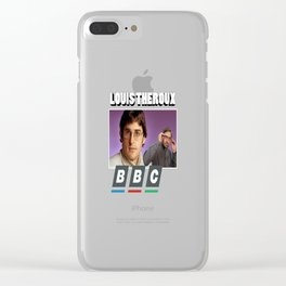 Louis Theroux Print Clear iPhone Case