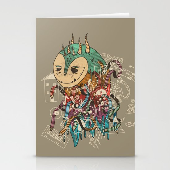 The Doodler Stationery Cards