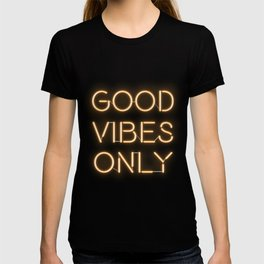 Neon Good Vibes - Orange T-shirt