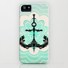 Anchored in the Light... iPhone (5, 5s) Slim Case