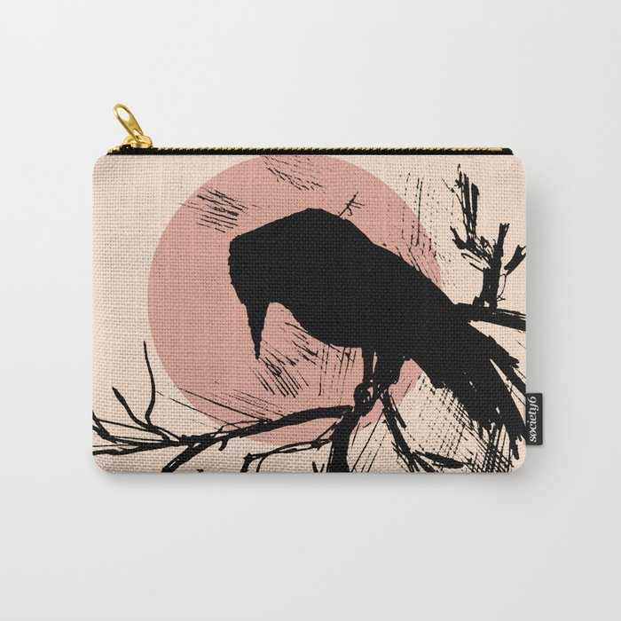 Crow edit version 4 Carry-All Pouch