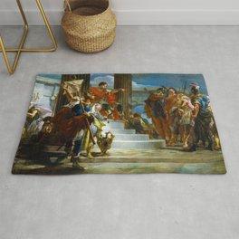 Scipio Africanus Freeing Massiva by Giovanni Battista Tiepolo (1721) Rug
