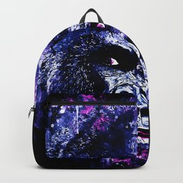 gorilla monkey face expression wscb Backpack