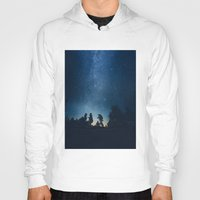 stars Hoodies featuring Follow the stars by HappyMelvin