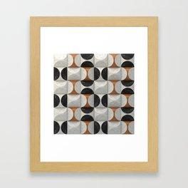 Marble game Framed Art Print