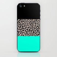 Leopard National Flag VII iPhone & iPod Skin