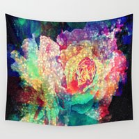 roses Wall Tapestries featuring Roses by haroulita