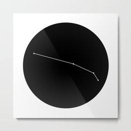 ARIES (MINIMALIST DESIGN) Metal Print