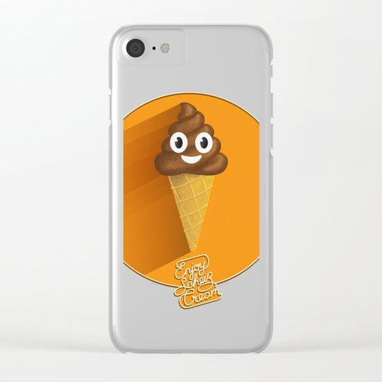 ScheißCream™  // icecream Clear iPhone Case