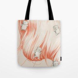 Hair bears Tote Bag