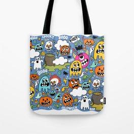 Ghosts of Halloween Tote Bag