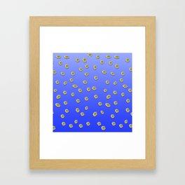 Scattered Daisies Framed Art Print