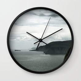 Dark Shore Wall Clock