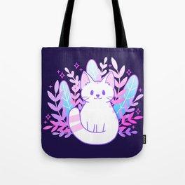 Plant Cat Tote Bag