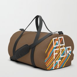 70s Go For It Duffle Bag