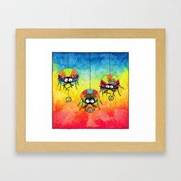 Afro-Spiders Framed Art Print