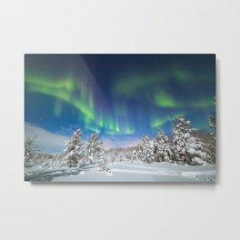 A night under polar sky Metal Print