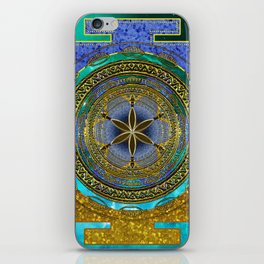 Yantra Mantra Mandala #1 iPhone Skin