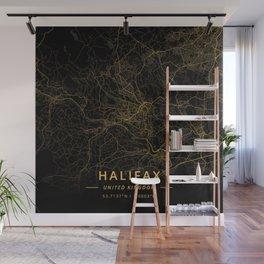 Halifax, United Kingdom - Gold Wall Mural