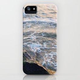 Waves crashing on rock | Annapolis, MD iPhone Case