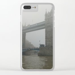 Tower Bridge Clear iPhone Case